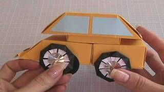 Ku-ku Origami Car Box (carro Caja)3-3