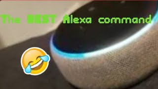 The BEST Alexa command!