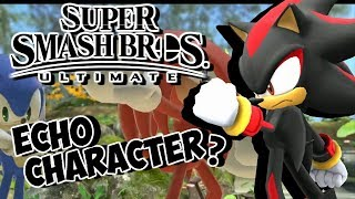 WILL SHADOW BE PLAYABLE IN SUPER SMASH BROS ULTIMATE??!