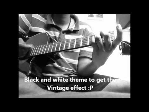 5 Old Bollywood songs medley on guitar