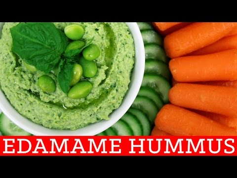 Easy Healthy Homemade Edamame Hummus! Thirty Second Thursdays by Mind Over Munch
