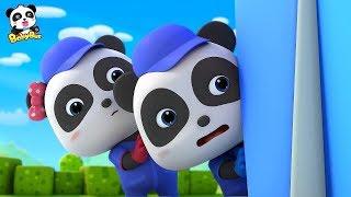 The Car Tools are Moving! | Kids Repair Сars | Car Mechanics | Super Panda Rescue Team | BabyBus