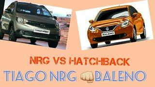 Tata tiago NRG VS Maruti Suzuki baleno