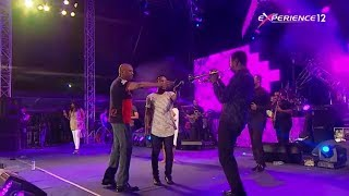 Travis Greene, Nathaniel Bassey  and Donnie Mcclurkin minister together at The Experience Lagos 2017