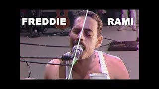 BOHEMIAN RHAPSODY 2018 [COMPLETE SONGS side by side with QUEEN Live Aid 1985]  FULL LIVE AID SCENE