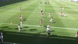 MTK-Manchester United 2-1, IIhalf