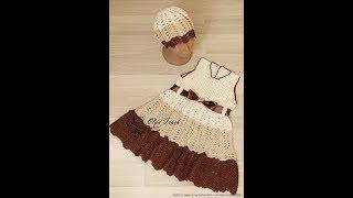 Crochet Patterns  for free  crochet baby dress  2523