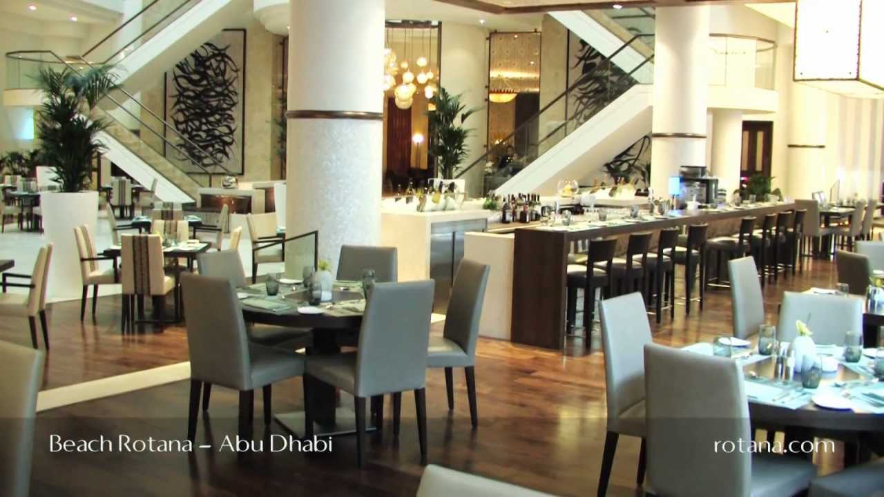 restaurants beach rotana hotel in abu dhabi united arab. Black Bedroom Furniture Sets. Home Design Ideas