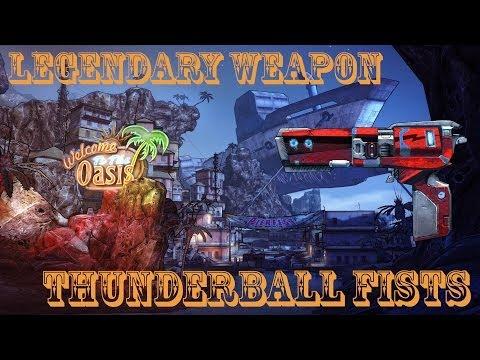 Borderlands 2 легендарные пушки #21 Thunderball Fists(Громовержец)