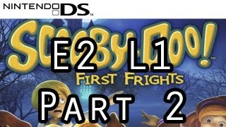 Scooby Doo: First Frights - Nintendo DS - E2 L1 Part 2