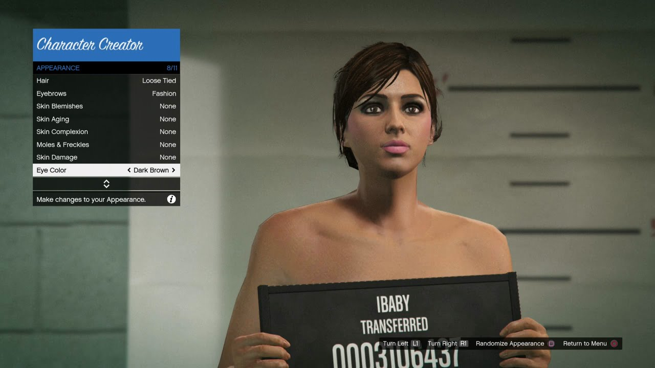 Gta 5 online character female