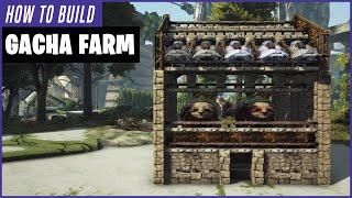 How To Build A Gacha Farm   Ark Survival Evolved
