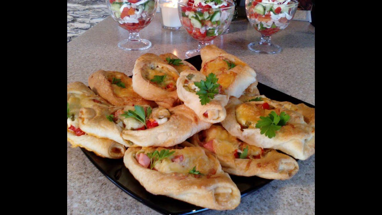 Хачапури с сыром рецепт из слоеного теста 6