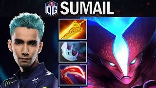THIS IS HOW THE RANK 1 MMR PLAYS SPECTRE - OG.SUMAIL - DOTA 2 7.24 GAMEPLAY