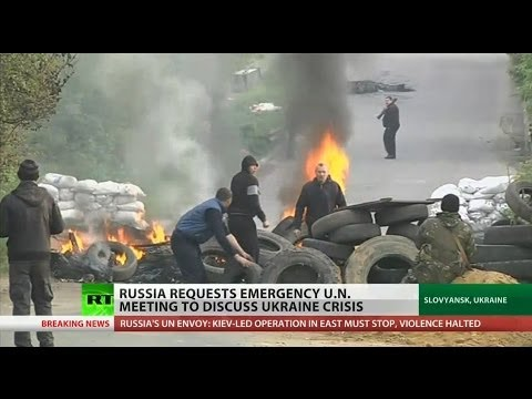 Nations play blame game at UN Security Council meeting on Ukraine