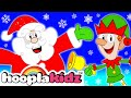 Santa Claus Song | Wake Up Santa | Christmas Songs for Kids | HooplaKidz