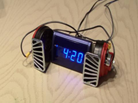 World s Loudest Alarm Clock!