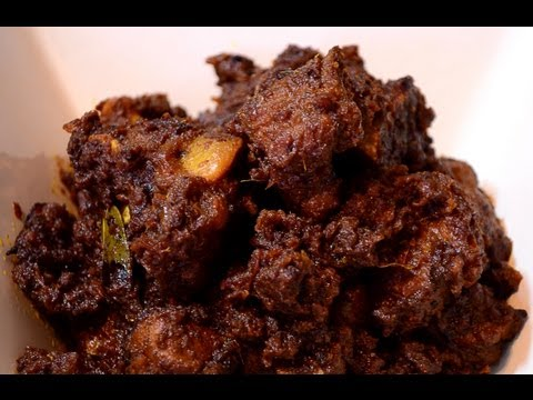 Beef Bhuna - Bhuna Gorur Mangsho - Bangladeshi style