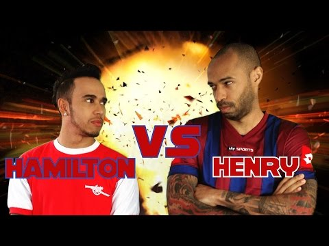 Lewis Hamilton VS Thierry Henry