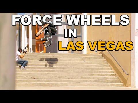 Cody Whitt, Chris Chann & The FORCE Wheels Team Skates LAS VEGAS