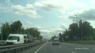 An accident with the truck in Russia