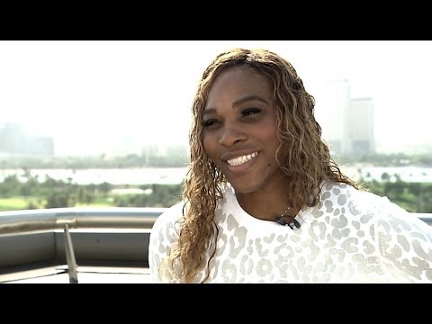 Serena Williams 2014 Dubai Duty Free Tennis Championships Preview Interview