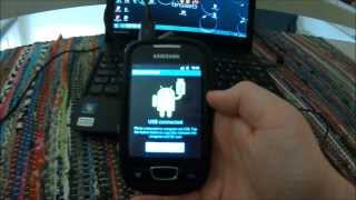 How to root Samsung Galaxy Mini/Pop 2.3.6 or 2.3.7