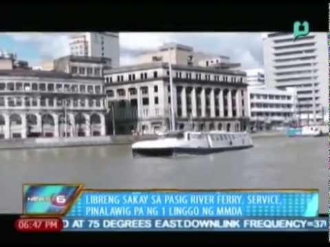 Libreng sakay sa Pasig River Ferry service, pinalawig pa ng 1 linggo ng MMDA