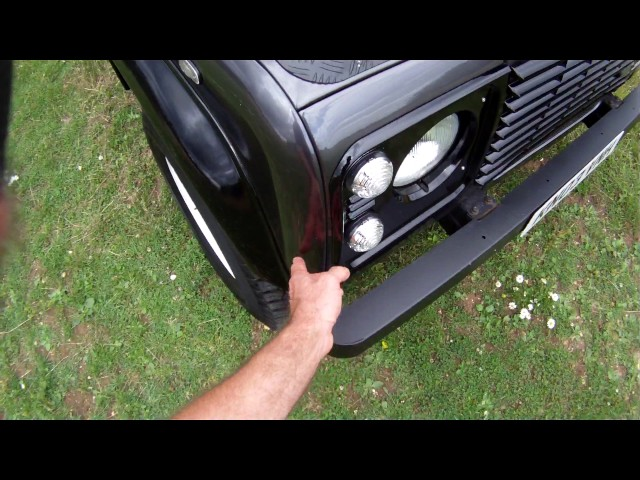 land rover defender 90 TD5 7 seater 2 for sale walkaround ...