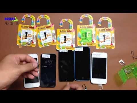 R-SIM mini iPhone 5.5C.5S.4S UPGRADEABLE Unlock SIM Plug & Play