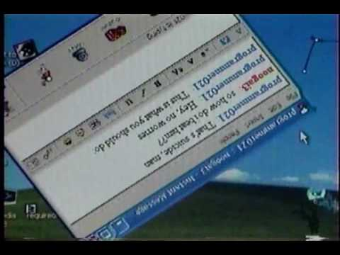 Virus informatico atacando ordenador