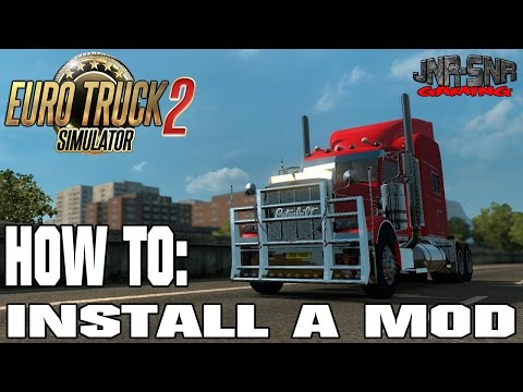 How to install mods for Euro Truck Simulator 2
