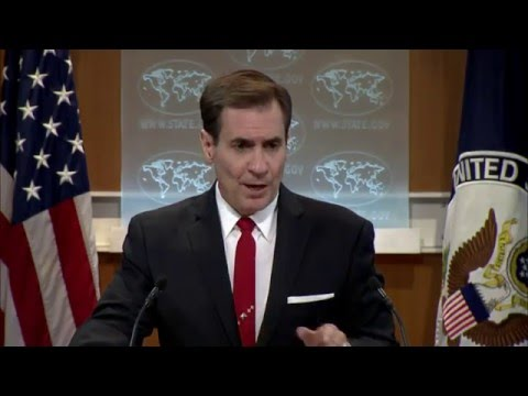 Spokesperson Kirby on Attack in Kabul, Afghanistan