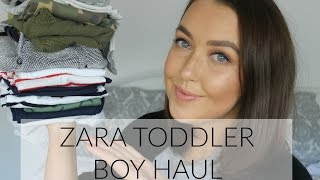 ZARA TODDLER BOYS HAUL | BELLES BOUTIQUE