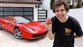 BUYING MY DREAM CAR!! (FERRARI)