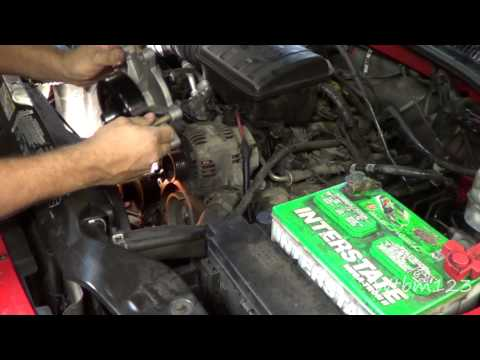 Jeep Liberty Water Pump Replace
