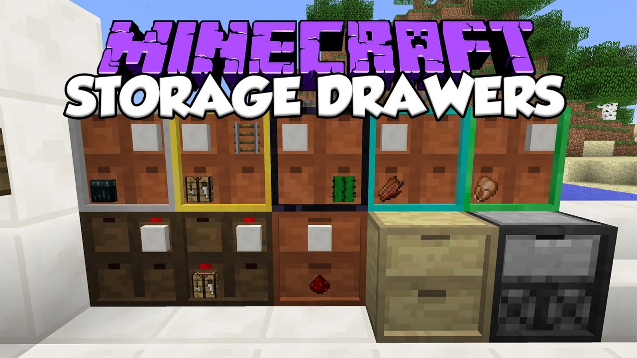 Storage Drawers Mod Almacena