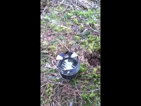 Swiss M1 Stove Gel Fuel Boil Test 1 How To Save