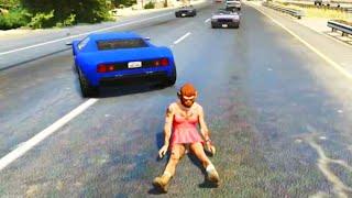 GTA V Unbelievable Crashes/Falls - Episode 16