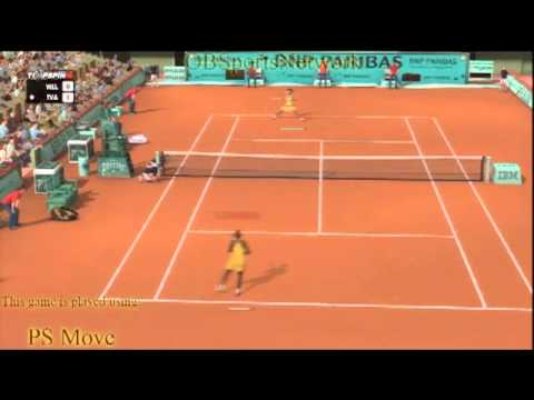OBSN- 2K Top Spin 4 - Serena Williams vs Ana Ivanovic - Clay - Paris, France (demo).