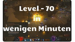 Diablo3: Level 70 in 5 Minuten