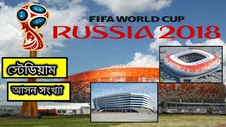 Russia FIFA World Cup 2018 Stadiums And Capacity | Hidden World BD |