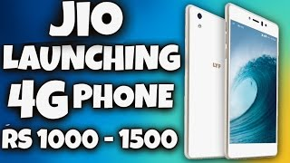 Jio launching new android phone Rs 1000 - 1500 (Hindi)