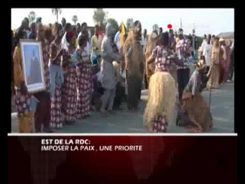 EST DE LA RDC IMPOSE LA PAIX UNE PRIORITE