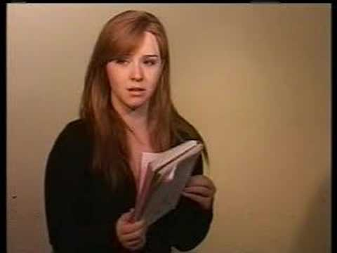 Student Project - Monologues. This was from a 1 week NYU Teen Program I ...