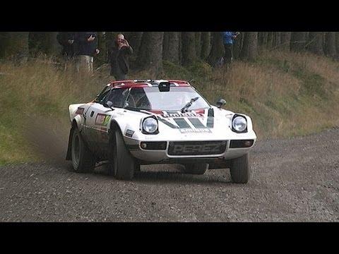 Steve Perez/Paul Spooner - Lancia Stratos|Wales Rally GB National 2012