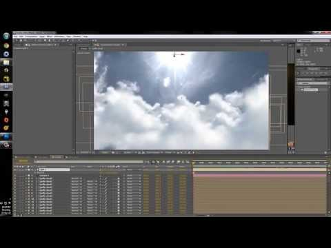 Puffy Cloud Fly Through Preview