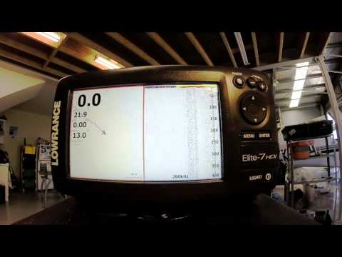 Udating your Lowrance Elite 7 HDI