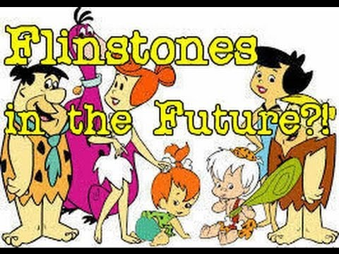 Cartoon Conspiracy Theory   The Flinstones are actually in the Future?!