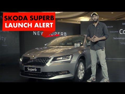 2016 Skoda Superb | Launch Alert | PowerDrift